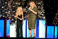 25 September 2019 - Nashville, Tennessee - Kristin Chenoweth, Trisha Yearwood. 2019 CMA Country Christmas held at the Curb Event Center. Photo Credit: Dara-Michelle Farr/AdMedia