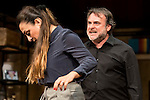 "Xavi Mira and Candela Peña during theater play of ""Los vecinos de arriba"" at Teatro La Latina in Madrid. April 05, 2016. (ALTERPHOTOS/Borja B.Hojas)"