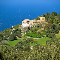 Spain, Balearic Islands, Mallorca, Son Marroig - residence of archduke Ludwig Salvator | Spanien, Balearen, Mallorca, Son Marroig - Residenz des Erzherzogs Ludwig Salvator