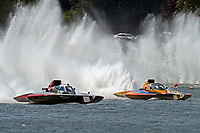 "Bert Henderson, GP-777 ""EMS Steeler"" and Marty Wolfe, GP-93 ""Renegade""           (Grand Prix Hydroplane(s)"