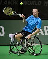 13-02-14, Netherlands,Rotterdam,Ahoy, ABNAMROWTT, Ronald Vink(NED)<br /> Photo:Tennisimages/Henk Koster