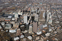 aerial photograph of Denver, Colorado
