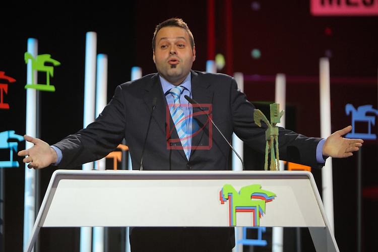 63 Premios Ondas.<br /> Gala de Entrega de los premios.<br /> Martin Llade.