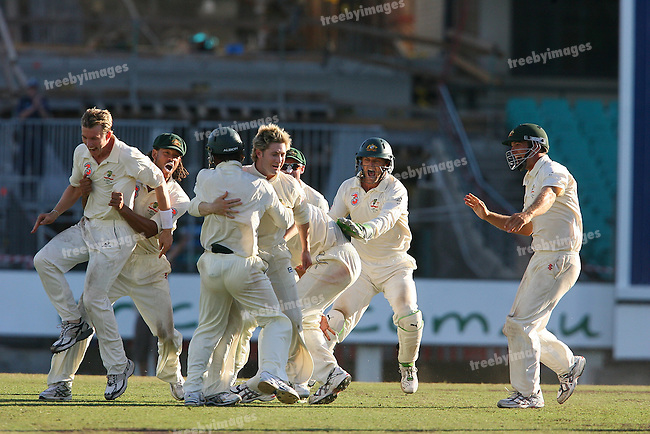 Test Series Australia V India, 2nd Test at the SCG, 6th Jan 2008.