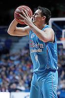 Asefa Estudiantes' Kyle Kuric during Liga Endesa ACB match.November 11,2012. (ALTERPHOTOS/Acero) /NortePhoto