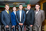 Pictured at the Colaiste na Sceilge Debs Ball on Saturday were l-r; Adam King, Sean O'Donoghue, Kevin Moriarty, Mike Moriarty & Graham O'Sullivan.