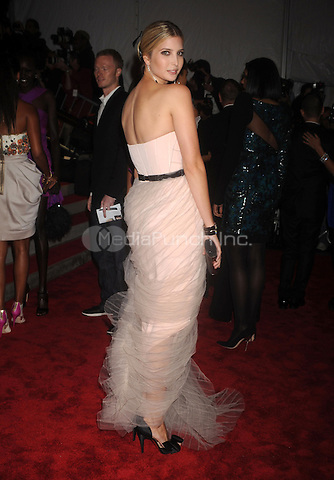 Ivanka Trump at 'The Model as Muse: Embodying Fashion' Costume Institute Gala at The Metropolitan Museum of Art in New York City. May 4, 2009. Credit: Dennis Van Tine/MediaPunch