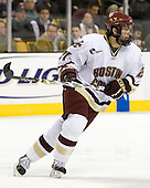 Benn Ferriero (Boston College - Essex, MA) - The Boston College Eagles defeated the Harvard University Crimson 3-1 in the first round of the 2007 Beanpot Tournament on Monday, February 5, 2007, at the TD Banknorth Garden in Boston, Massachusetts.  The first Beanpot Tournament was played in December 1952 with the scheduling moved to the first two Mondays of February in its sixth year.  The tournament is played between Boston College, Boston University, Harvard University and Northeastern University with the first round matchups alternating each year.