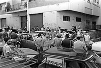 CIRILLO<br /> Morto Ciro Cirillo politico della DC rapito dalle Brigate Rosse nel 1981  e liberato dopo una presunta trattativa DC BR con la mediazione  di Cutolo <br /> Nella foto il tragico rapimento del 1981<br /> foto AGN