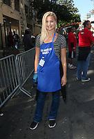 Los Angeles, CA - NOVEMBER 23: Jennifer Åkerman, At Los Angeles Mission Thanksgiving Meal For The Homeless At Los Angeles Mission, California on November 23, 2016. Credit: Faye Sadou/MediaPunch