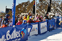 MT BULLER, AUSTRALIA, 28 August 2008 - Victorian Interschools Snowsports Championships held at Mt Buller, Victoria on 28 August 2008. Photo by Sydney Low / AsteriskImages.com