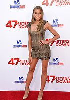 Tanya Mityushina at the Los Angeles premiere for &quot;47 Meters Down&quot; at the Regency Village Theatre, Westwood. <br /> Los Angeles, USA 12 June  2017<br /> Picture: Paul Smith/Featureflash/SilverHub 0208 004 5359 sales@silverhubmedia.com