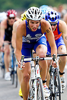 13 JUN 2010 - BEAUVAIS, FRA - Simon Pimenta - French Grand Prix triathlon series (PHOTO (C) NIGEL FARROW)