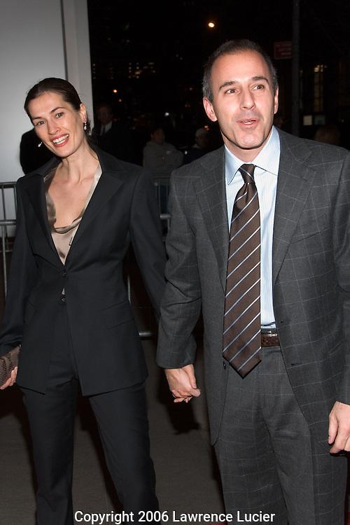 Annette Lauer and Matt Lauer