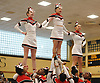 Freeport performs during the Nassau County varsity cheerleading championships at Wantagh High School on Sunday, Feb. 25, 2018.