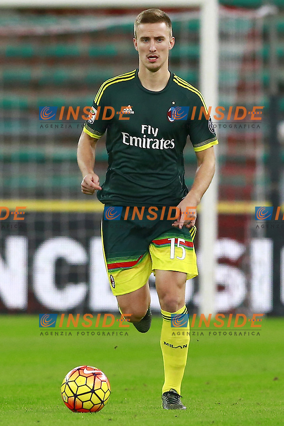 Rodrigo Ely Milan,  <br /> Bari 24-11-2015 Stadio San Nicola <br /> Football Calcio Trofeo San Nicola 2015 Bari - Milan<br /> Foto Cesare Purini / Insidefoto