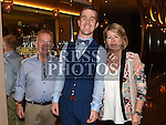 Liam McDonnell celebrating his 30th birthday in the Thatch with parents Paddy and Anne. Photo:Colin Bell/pressphotos.ie
