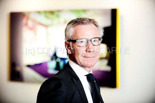 Marc Raisière, CEO of Belfius Bank and Insurance (Belgium, 15/10/2015)