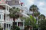 The Battery district,  Charleston, SC, USA