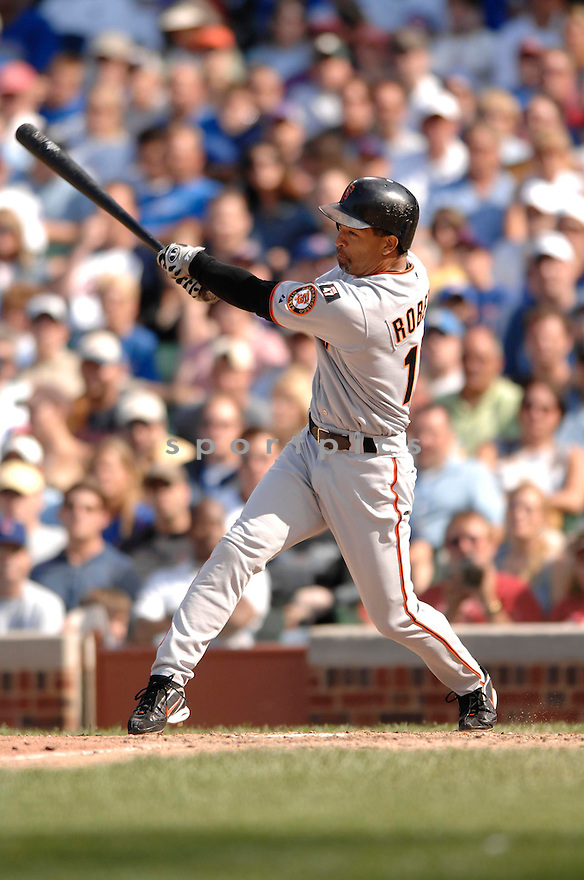 DAVE ROBERTS, of the San Francisco Giants, in action during the Giants game against the Chicago Cubs  in Chicago, IL  on July 19,  2007...Cubs win 9-8...DAVID DUROCHIK / SPORTPICS.