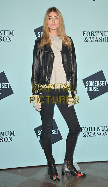 Eve Delf at the Skate at Somerset House wtih Fortnum &amp; Mason VIP launch party, Somerset House, The Strand, London, England, UK, on Tuesday 14 November 2017.<br /> CAP/CAN<br /> &copy;CAN/Capital Pictures
