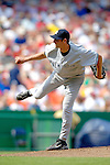 17 June 2006: T.J. Beam, pitcher for the New York Yankees, in his first major league appearance against the Washington Nationals at RFK Stadium, in Washington, DC. The Nationals overcame a seven run deficit to win 11-9 in the second game of the interleague series...Mandatory Photo Credit: Ed Wolfstein Photo...