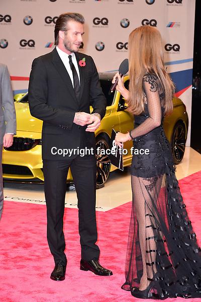 David Beckham attending GQ Award (Maenner des Jahres 2013) at Komische Oper, Berlin, 07.11.2013.<br /> Credit: Timm/face to face