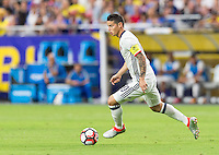 Glendale, AZ - Saturday June 25, 2016: James Rodriguez during a Copa America Centenario third place match match between United States (USA) and Colombia (COL) at University of Phoenix Stadium.