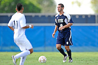 10 September 2011:  FIU's Nicholas Chase (8) moves the ball upfield in the first half as the FIU Golden Panthers defeated the Stetson University Hatters, 3-2 in the second overtime period, at University Park Stadium in Miami, Florida.