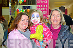 Pictured at the Manor West Retail Park 10th Anniversary Celebrations from left: Cathy O'Grady, Caitlin O'Grady, Mary O'Riordan, from Blennerville.