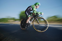 Lars Petter Nordhaug (NOR)<br /> <br /> Tour de France 2013<br /> stage 11: iTT Avranches - Mont Saint-Michel <br /> 33km