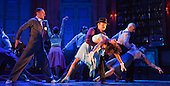 """L-R: Vincent Simone, Flavia Cacace and Giraldo Diomar. """"Midnight Tango"""" with """"Strictly Come Dancing"""" Stars Flavia Cacace and Vincent Simone opens at the Aldwych Theatre, London. Photo credit: Bettina Strenske"""
