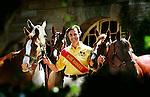 James Mann Clark and his polo pony team.