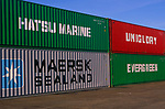 A3ABM7 Shipping Containers Maersk Evergreen