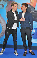 Dustin Lance Black &amp; Tom Daley at the &quot;Finding Dory&quot; UK film premiere, Odeon Leicester Square cinema, Leicester Square, London, England, UK, on Sunday 10 July 2016.<br /> CAP/CAN<br /> &copy;CAN/Capital Pictures ***USA and South America Only**