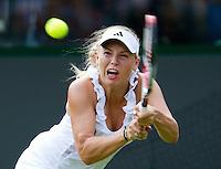 21-06-11, Tennis, England, Wimbledon, Caroline Wozniacki