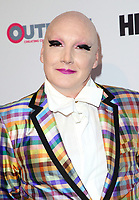 """LOS ANGELES, CA-  James St. James, At 2017 Outfest Los Angeles LGBT Film Festival - Closing Night Gala Screening Of """"Freak Show"""" at The Theatre at Ace Hotel, California on July 16, 2017. Credit: Faye Sadou/MediaPunch"""