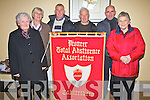 Committee members from The Pioneer Total Abstinence Association Cahersiveen who celebrated their 90th anniversary with a social in the Ring of Kerry Hotel on the 30th October, pictured l-r; Bride Roper(Secretary), Mary Golden(Treasurer), Mike Kissane(President), John Griffin(Spiritual Director), Denis Daly(P.R.O.) & Mary Daly.