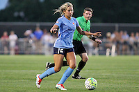 Piscataway, NJ - Saturday July 23, 2016: Shawna Gordon during a regular season National Women's Soccer League (NWSL) match between Sky Blue FC and the Washington Spirit at Yurcak Field.