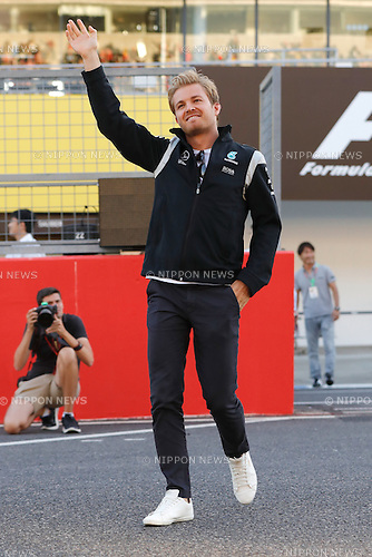 Nico Rosberg (GER),  <br /> OCTOBER 6, 2016 - F1 : Japanese Formula One Grand Prix <br /> at Suzuka Circuit in Suzuka, Japan. (Photo by Sho Tamura/AFLO SPORT) GERMANY OUT