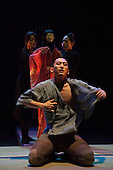 LONDON, ENGLAND - Shun-kin at the Barbican, directed by Simon McBurney for Complicite, Songha Cho as Young Sasuke