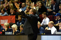 GRONINGEN - Basketbal, Donar - Landstede Martiniplaza, Dutch Basketbal League, seizoen 2018-2019, 06-12-2018, Donar coach Erik Braal