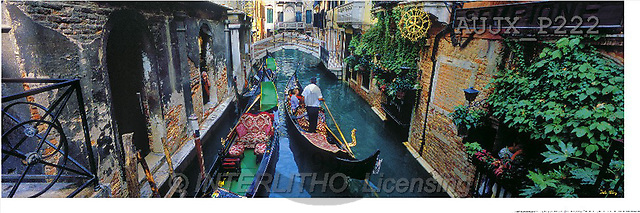 Dr. Xiong, LANDSCAPES, panoramic, photos, A day in Venice, Italy(AUJXP222,#L#)