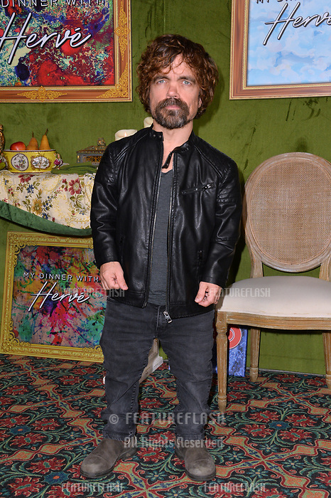 """LOS ANGELES, CA. October 04, 2018: Peter Dinklage at the Los Angeles premiere for """"My Dinner With Herve"""" at Paramount Studios.<br /> Picture: Paul Smith/Featureflash"""