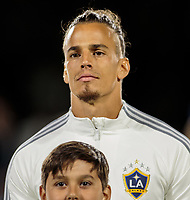 Rolf Feltscher #25 of the Los Angeles Galaxy