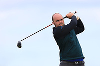 Jordan Hood (Galgorm Castle) on the 10th tee during Round 4 of The East of Ireland Amateur Open Championship in Co. Louth Golf Club, Baltray on Monday 3rd June 2019.<br /> <br /> Picture:  Thos Caffrey / www.golffile.ie<br /> <br /> All photos usage must carry mandatory copyright credit (© Golffile | Thos Caffrey)
