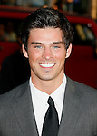 """HOLLYWOOD, CA. - April 14: Adam Gregory arrives at the premiere of Warner Bros. """"17 Again"""" held at Grauman's Chinese Theatre on April 14, 2009 in Hollywood, California."""