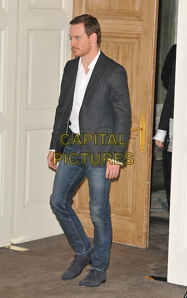 Michael Fassbender at the &quot;Assassin's Creed&quot; film photocall, Claridge's  Hotel, Brook Street, London, England, UK, on Thursday 08 December 2016. <br /> CAP/CAN<br /> &copy;CAN/Capital Pictures