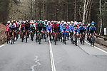The peloton during Stage 1 of the 78th edition of Paris-Nice 2020, running 154km from Plaisir to Plaisir, France. 8th March 2020.<br /> Picture: ASO/Fabien Boukla | Cyclefile<br /> All photos usage must carry mandatory copyright credit (© Cyclefile | ASO/Fabien Boukla)