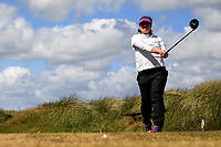 Jean O'Driscoll (Muskerry) during the 1st round of the Irish Women's Open Stroke Play Championship, Enniscrone Golf Club, Enniscrone, Co. Sligo. Ireland. 16/06/2018.<br /> Picture: Golffile | Fran Caffrey<br /> <br /> <br /> All photo usage must carry mandatory copyright credit (© Golffile | Fran Caffrey)